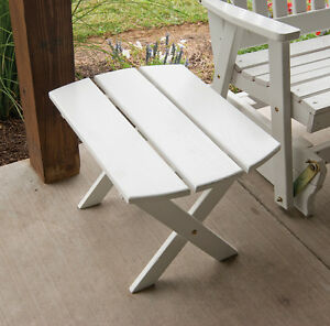 Outdoor Furniture Folding Oval End Table 8 Paint Colors Amish Made Usa Ebay