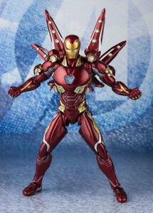 S-H-Figuarts-SHF-Marvel-Avengers-Endgame-Iron-Man-Nano-Weapon-Set2-Action-Figure