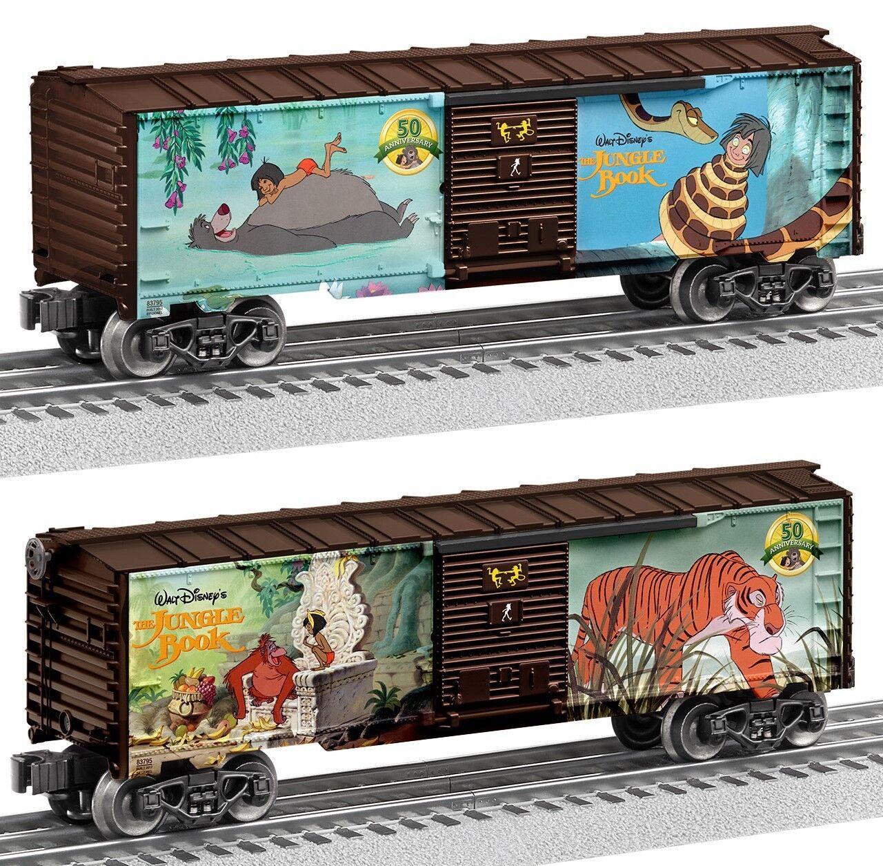 muy popular Lionel Limited Edition 50th aniversario de la la la selva libro Furgón   6-83795  envío gratis