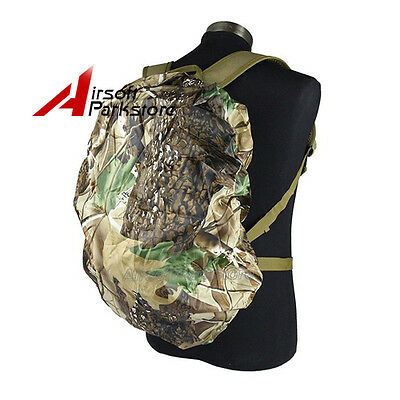 Waterproof Rucksack Army Camo Bag Military Rain Cover for 25-40L Backpack