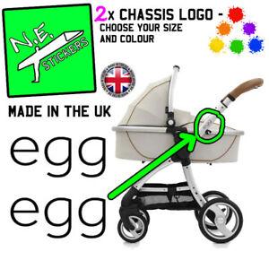 2x-Babystyle-uf-Remplacement-Chassi-Logo-Autocollants-colores-Landau-Buggy-Poussette