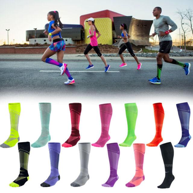 3bbaeeac2e Nike Elite Graduated Compressio n Running Marathon Mens Womens Socks Pick 1