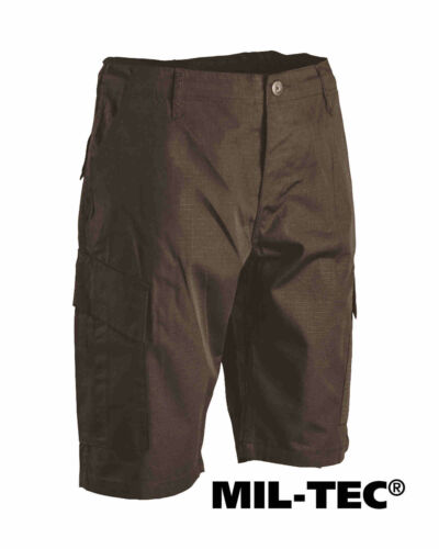 Mil-Tec US BERMUDA ACU R//S SCHWARZ Shorts kurze Hose