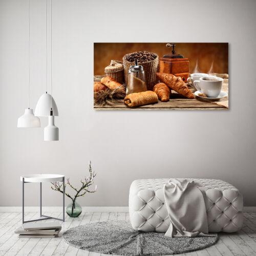 Glas-Bild Wandbilder Druck auf Glas 120x60 Deko Essen /& Getränke Frühstück