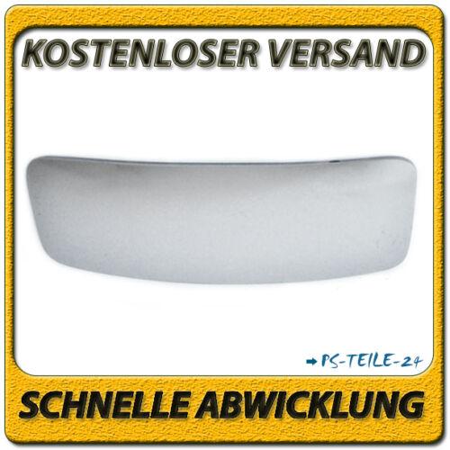 Vidrio pulido gran angular abajo a la izquierda del copiloto para VW Crafter 2006-2012