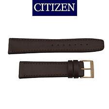Citizen Original 20mm Dark Brown Rubber Watch Band Strap BM6753-00A S065909