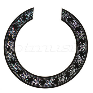 acoustic classical guitar soundhole rosette decal sticker for yamaha ibanez etc 884002744373 ebay. Black Bedroom Furniture Sets. Home Design Ideas