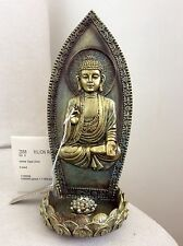 Beautifully Detailed Buddha's Incense Holder, Adorned In WHITE OPAL Swarovski's