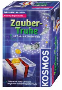 Zauber - Truhe #KOSMOS Experimentierk<wbr/>asten 20 Tricks mit Zauber-Geld Zaubertrick