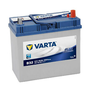 VARTA-B32-Blue-Dynamic-545-156-033-Autobatterie-45Ah-einsatzbereit