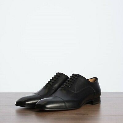 huge selection of 53438 30df4 CHRISTIAN LOUBOUTIN 850$ Greggo Oxfords Shoes In Black Leather | eBay