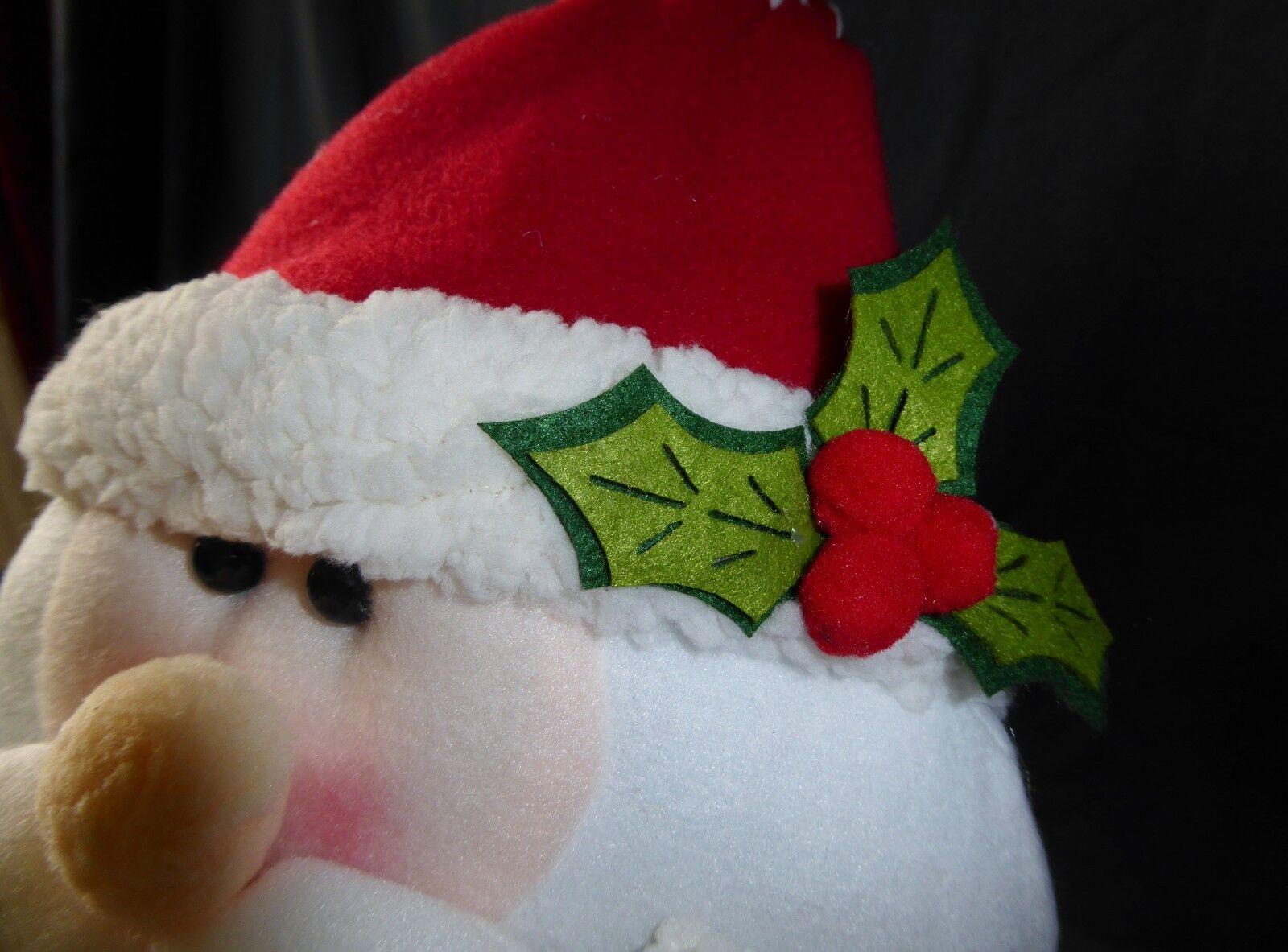 Vendita 85cm Grande Morbido Tessuto Babbo Natale-flessibile Novità Novità Novità Decorazione di Natale 088031