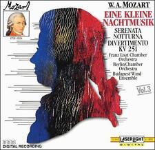 Eine Kleine Nachtmusik, Vol. 3 Mozart, Wolfgang Amadeus, Janos Rolla, Peter Woh