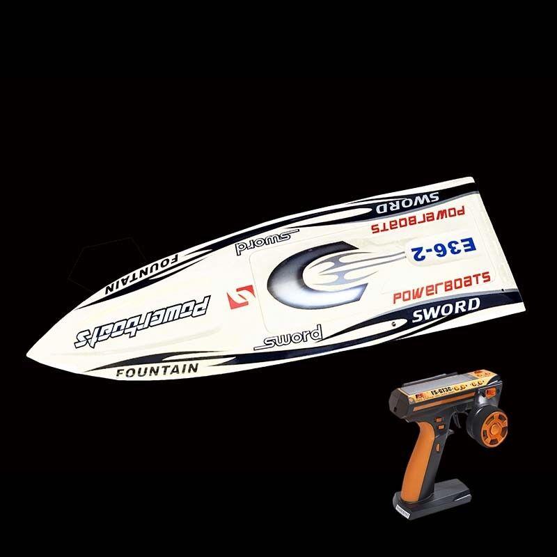 DT RC Electric Boat RTR E36 W/ Fiber Glass MotorRudder Servo ESC Racing