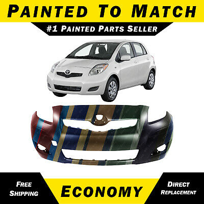 PREMIUM Painted 2007 2008 Toyota Yaris Hatchback Front Bumper Cover