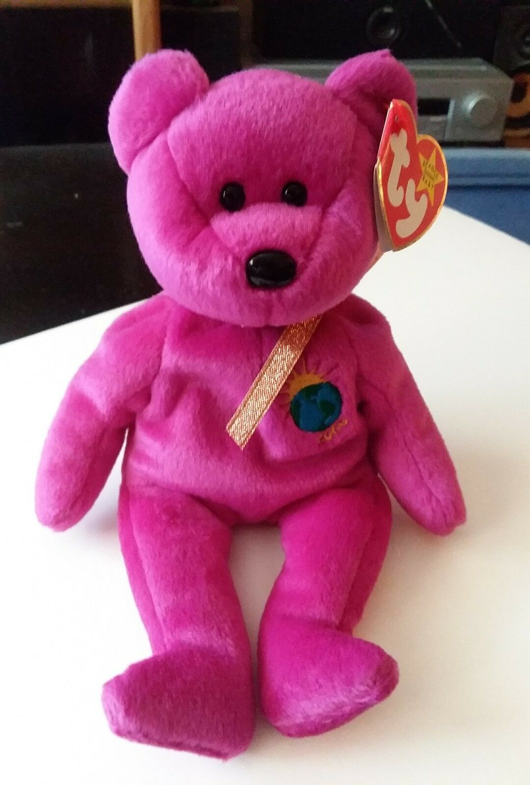 8421557bfaf Millenium Ty Beanie Baby with errors VERY RARE (Millennium) Bear ...