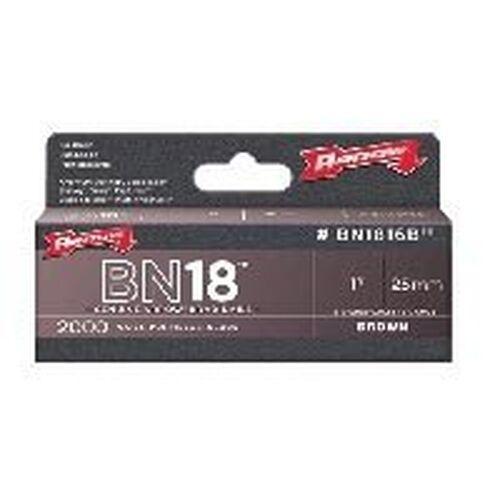 "3 NEW ARROW BN1816B LOT OF PACKS 1/"" BROWN BRAD NAILS 6000 NAILS 6022073"