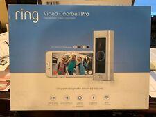 Ring Video Doorbell Pro (8VR1P6-0EN0) - Satin Nickel