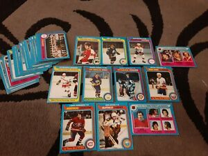 1979-80 Topps 39 Vintage Hockey Cards lot Includes Stars & 4 Rookie Cards L@@K!!