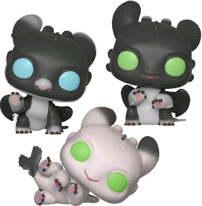 FUNKO POP  How to Train Your Dragon 3  The Hidden World ( SET OF 3)