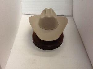 b0ab1a10dcc Stetson Cowboy Hat 6X Beaver Fur Silverbelly Adelante FreeHatBrush+ ...