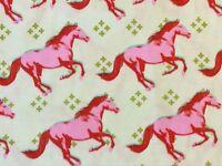 RPG516C Cotton + Steel Wild Horses Pony Stallion Equestrian Cotton Quilt Fabric