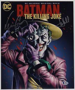 Mark-Hamill-joker-amp-Kevin-Conroy-Batman-Signed-11x13-Photo-Beckett-BAS