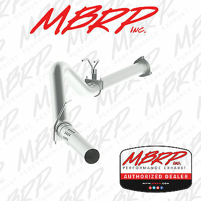 MBRP S6248PLM 4 Filter Back No Muffler Single Aluminized