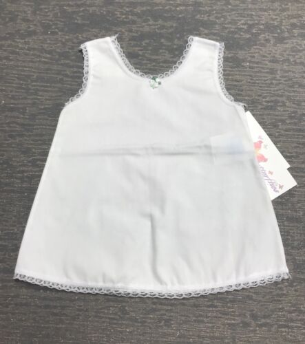Infant 12 Months A-Line Cotton Blend Dress Slip NWT !