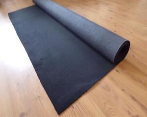 Teppich-Meterware-Autoteppich-feiner-Velour-Stoff-anthrazit-143cm-x-400-Rest