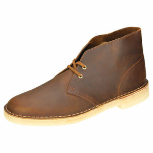 Competitivo Cumbre Rústico  Clarks Originals Desert Boot Mens Beeswax Leather Chukka Boots | eBay