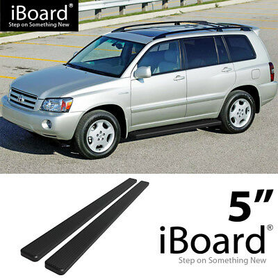 "04-09 RX330 4/"" iBoard Running Boards Nerf Bars Fit 01-07 Toyota Highlander"
