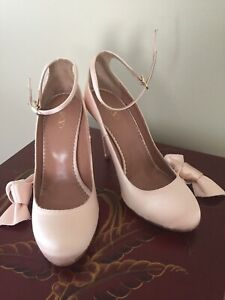 New-Red-Valentino-New-Shoes-Size-8-Pink-Satin-Leather