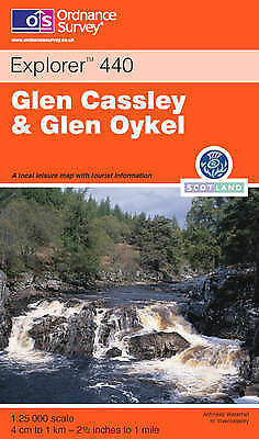Glen Cassley and Glen Oykel (Explorer Maps), Ordnance Survey, New Book