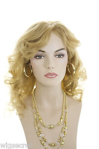 Light-Golden-Blonde-Blonde-Long-Human-Hair-Monofilament-Hand-Tied-Wavy-Str-Wigs