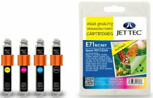 JetTec T0715 B/C/M/Y MULTIPACK Compatible Ink for Epson - E71B/C/M/Y, 101E007121