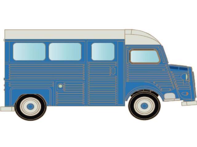 Lemke Minis  LC4156 Citroën HY Bus blau  Neuheit 2015!