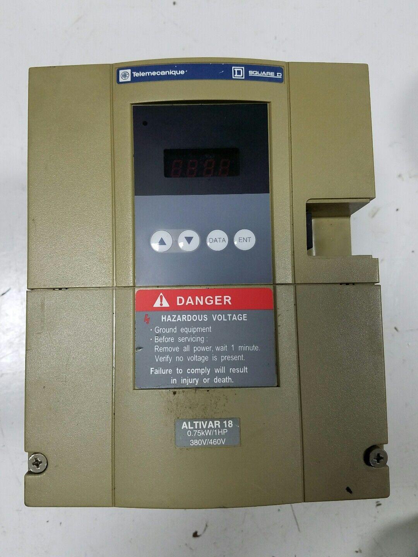 square d telemecanique altivar 18 drive atv18d12n4 10 hp 460 volt rh ebay com Altivar 28 Cable Altivar Drives-AC