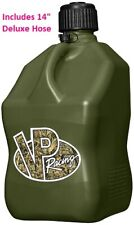 Vp Racing Motorsports Gas Fuel Container Can With 14 Deluxe Hose 5 Gallon Camo