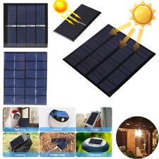 Solarmodul Solarpanel Solarzelle 0,5V 1V 1,5V 2V 3V 4V 5V 5,5V 6V 8V 10V 12V