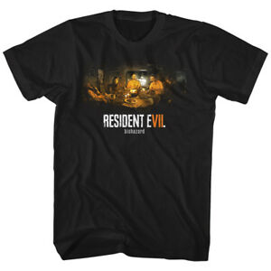 Resident-Evil-BIO-HAZARD-T-Shirt-New-in-Sizes-SM-5XL-WITH-NECK-TAG-In-Black