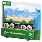 BRIO 33696 Lumber Loading Wagon for Wooden Train Set