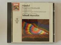 CD Händel Feuerwerksmusik Yehudi Menuhin