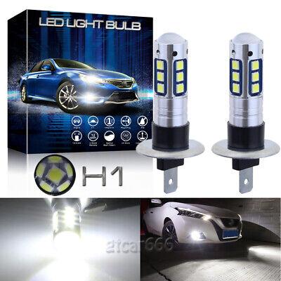 2x White led Power DRL Fog Light Driving Lamp Bulbs For Toyota CAMRY 2002-2006