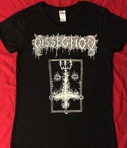 DISSECTION-Ladies-T-shirt-Death-Metal-MAYHEM-WATAIN-MARDUK-BATHORY-VENOM-S-XL