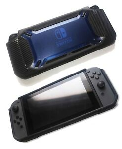Nintendo-Switch-Rugged-Heavy-Duty-Rubberised-TPU-Protective-Bumper-Case-Blk-Blue