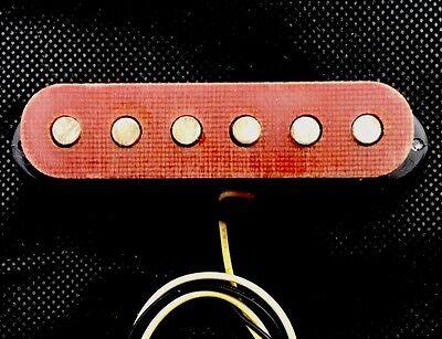 Frankenstrat Red Phenolic Pickup