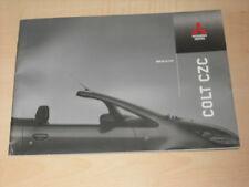 59418) Mitsubishi Colt CZC Prospekt 05/2007