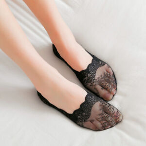Women-Lace-Anti-skid-Invisible-Liner-No-Show-Low-Cut-Socks-Boat-Sock-For-Summer