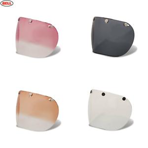 BELL 7018134 Custom 500 3-Snap Bubble Visier Fum/é dunkel